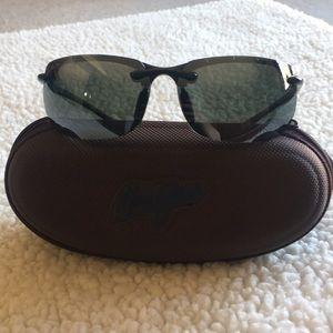 Maui Jim black sport sunglasses